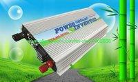 Free shipping!! 1kw Solar on grid tie inverter,invertor,inversor(DC12V to AC110V,AC120V 60HZ)(CP-GTI-1000W)