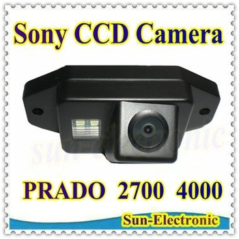 SONY CCD Chip Car Rear View Reverse Parking CAMERA for TOYOTA LAND CRUISER PRADO 2700 4000