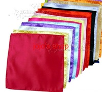 500pcs/lot many colors Pocket square silk Hankerchief kerchief mocket men's mocketer noserag pocket-handkerchief snot-rag