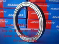 deep groove ball bearing  6805zz/61805    25mm*37mm*7mm  For measurement of bearing