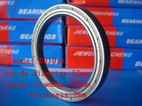 deep groove ball bearing  6810zz/61810    50mm*65mm*7mm  For measurement of bearing