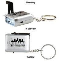 mini-dynamo-flashlight with keychain / mini key chain light