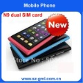 Free Shipping N9 3.6&quot; Touch Screen Quad Band Dual SIM Mobile Phone,7 different operating systems for your choose