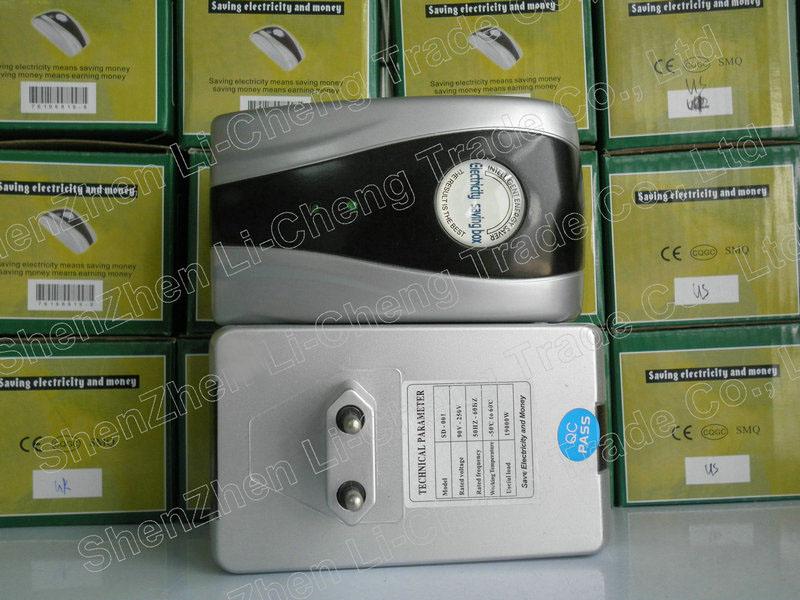 SD-001 Energy Saver Box 19KW Power Electricity Saving Box Save Electricity Bill & EU plug(China (Mainland))