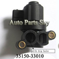 IDLE AIR CONTROL VALVE 35150-33010/ OK9A220660AN/ 0280 140 505/ 3 285 101 311 for Hyundai/Kia ,Cheapest Freight!