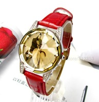 Hot sale 10X Black cat wrist quartz watch Lady fashion watch,Crystal glass surface