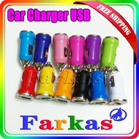 wholesale mini car charging adapter usb car charge for phones factory price lowest price 30pcs lot