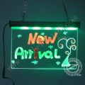Handwritten led advertising board with 16 Flashing Modes Free Shipping!