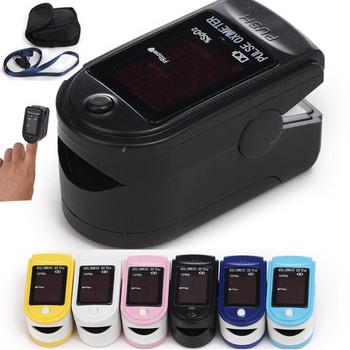 *Wholesale* FDA CE Six colours Optional CMS50DL Certified Fingertip Pulse Oximeter Spo2 Monitor, Blood Oxygen Saturation Monitor