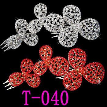 Fashion Red Hair Hairpins Accessories T-040