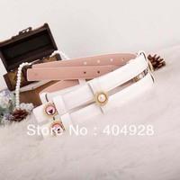 2014  new  leather luxury guaranteed 100% genuine leather belt  wholesale  retail fashion women belt Traditional Fashion Belt