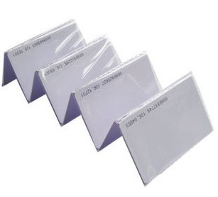 RFID 125Khz Proximity ID Cards 0.8mm Thin Credit Card Size 200pcs/lot