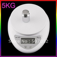 5000g/1g 5kg Food Diet Postal Kitchen Digital Scale, EMS  freeshipping