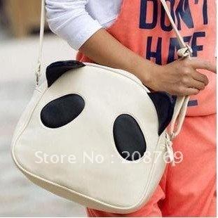 lovely Panda rabbit design pu leather women handbags, popular ladies tote bag, qualitied shoulder bag wholesale/Retail