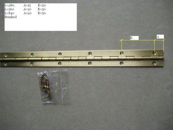 100 meters stainless steel piano hinges
