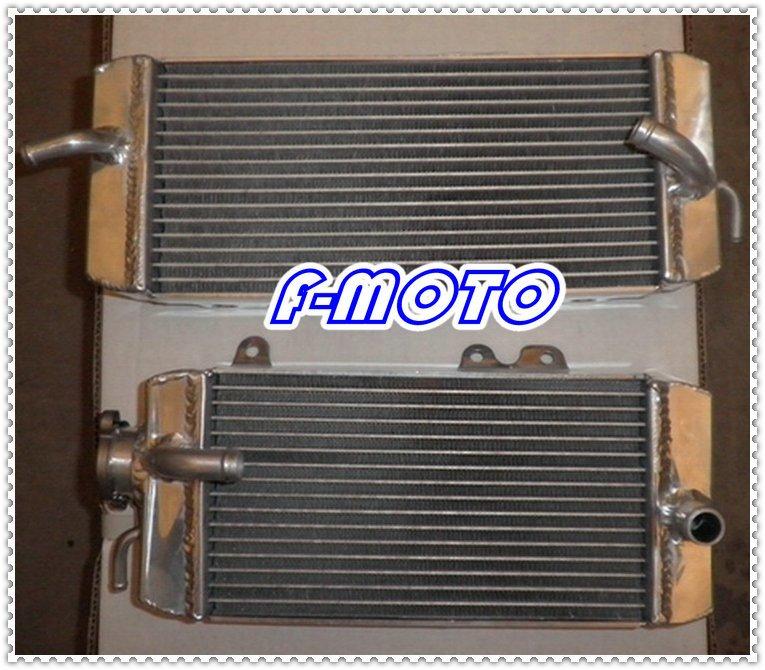 2009 KAWASAKI KXF250 alloy aluminum motorcycle radiator KXF 250 09(China (Mainland))