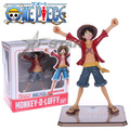 Free Shipping One Piece Monkey D Luffy After 2 Years THE NEW WORLD PVC Action Figure Collection Model Toy