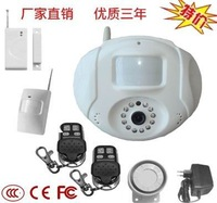 GSM MMS Mini home Wireless Alarm with camera and controller,gsm home security alarm