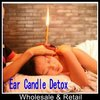 Free Shipping wholesale 300pcs(150pair)/lot Aromatherapy Ear Candle Detox Ear Candle Pure Essential Oil
