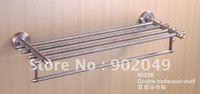 High Quality Double Bathtowel Shelf Bathroom Enclosure KG-8503B Sanitary Ware Fitting Free Shipping