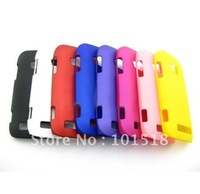 10pcs/lot Free shipping Rubber Hard Cover Case For Nokia Lumia 710