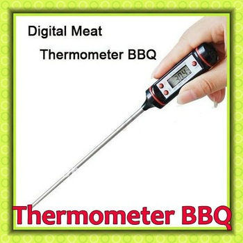 5PCS X NEW Pen style portable Digital Thermometer WT-1 applied to food processing etc BBQ Cooking Food Thermometer,Free shipping