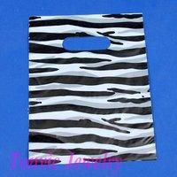 Free Shipping 100 High Quality Plastic Shopping Retail Gift Bag 16X22cm TVL-XA162203