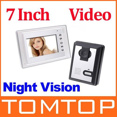 Видеодомофон TOMTOP 7/1/1/, EMS, dropshipping H8068