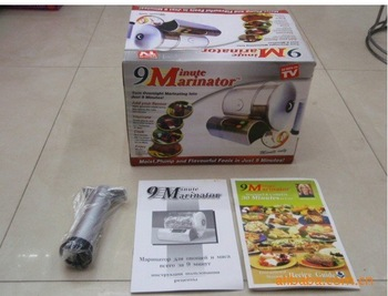 10pcs 9 Minute Electric Vacuum Food Marinator As Seen On TV