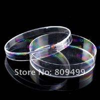 100pcs 60mm Laboratory plastic petri dishes +lid  Wholesale & retail Free Shipping L506
