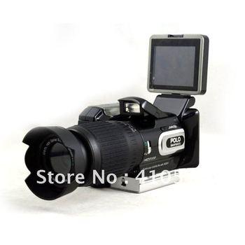Digital video camcorder POLO HD9100 2.5inch 16MP 16x Optical Digital Zoom Lens + Wide-angle Lens Digital Camera + Remote control