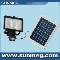 Green Product Solar LED PIR Sensor Wall Flood  Light