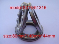 Thrust Ball Bearings 51316 or 8316  size80*140*44