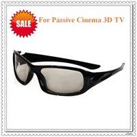Wholesale 100pcs/lot Passive Circular Polarized Cinema 3D TV glasses