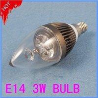 AC85-265V E14 3W Led Candle Light