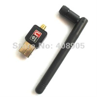 Free shipping ! 2012 newest Mini USB WiFi 150Mbps Wireless Adapter 150M LAN Card 802.11n/g/b with Antenna