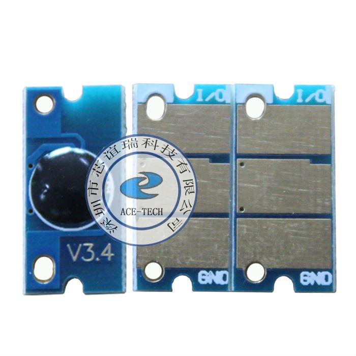 Color toner reset chip for Konica Minolta magicolor 1600W/1650EN/1690MF/1680MF laser printer refill cartridge(China (Mainland))