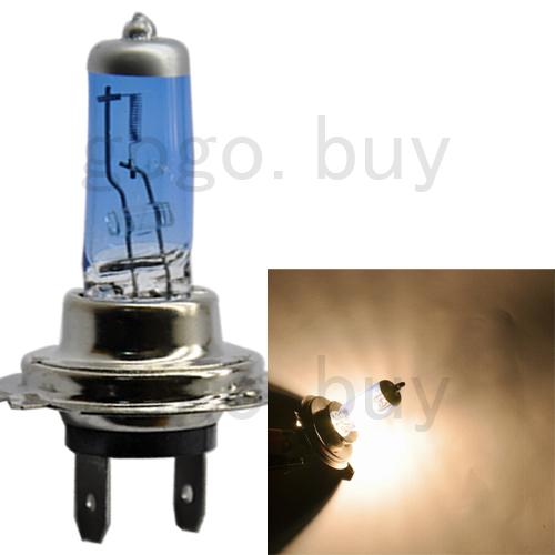 10pcs/lot Car Auto H7 Halogen Front Headlight Lighting Light Bulb 55W New DC 12Volt free shipping