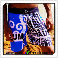 Free Shipping!!-AUS Mens Board Shorts/Beachwear/Sexy Men's Beach Pants (N-091)