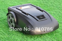 Greenish Black Color Robot Auto Gardden Mower 2700 Lead-acide Battery with remote controller, virtual wire, auto recharing