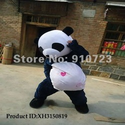 2012NEW Wholesale clothing / Kung Fu Panda Costume / The role of clothing / Plush toys / Direct manufacturers XH3150819(China (Mainland))