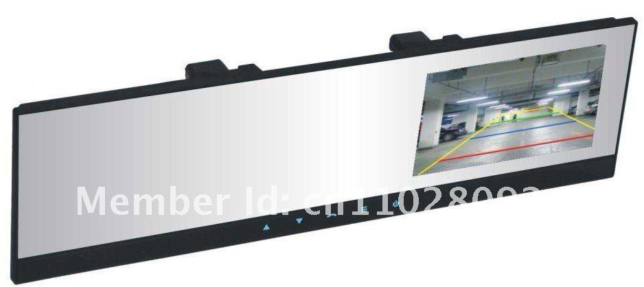 4.3'' TFT Bluetooth rearview mirror monitor wireless backup camera car kit(China (Mainland))