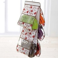 F2 New arrival! Five tiers storage hanging bag, for collection bags,purse, magzine,etc. 6 styles for your choice
