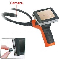 Wireless Snake Borescope Endoscope Inspection Camera Color 3.5 Inch DVR LCD Monitor CMOS Camera Horizontal View Angle 50 Degree