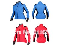 Sobike women riding jacket / bike long-sleeved shirt / windproof warm jersey - hongxiu
