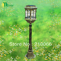 Outdoor Solar Garden/Lawn Lighting Lamp, LED Lighting Source for Path, Square, Beauty Spot, Park, Schoolyard Use