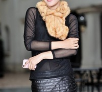 New Arrival real mink  fur scarf  8 COLORS Wholesale and retail FS123220300 Free shipping
