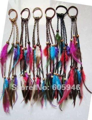 600 piece/lot пушистый волос длинная наращивание волос головной убор повязка на голову головные уборы резинка аксессуар