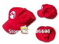 Free shipping DHL EMS 60pcs/lot  Mario Bros Anime Cosplay Hat,super mario hat baseball cap luigi Cap fashion hat