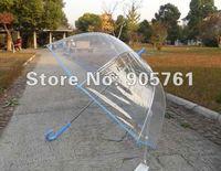 15pcs/lot free DHL shipping  clear transparent dome stylist umbrella, large clear transparent dome stylist umbrella